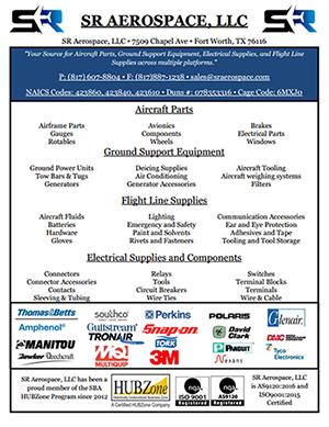 Products / Services – SR Aerospace, LLC